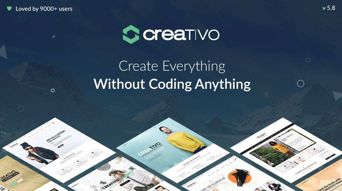 Creativo 5.0 – Ultra Responsive MultiPurpose WP Theme