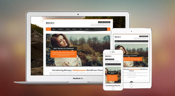 Biscaya - MultiPurpose Wordpress Theme
