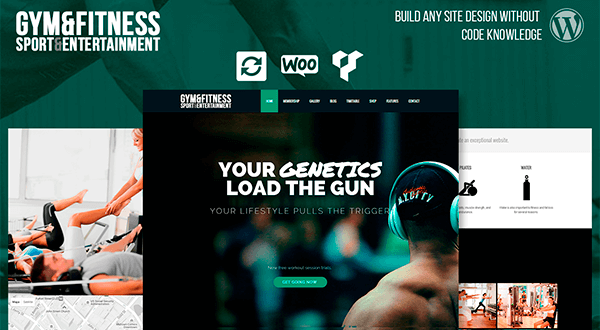 Gym - Sports & Fitness WordPress Theme