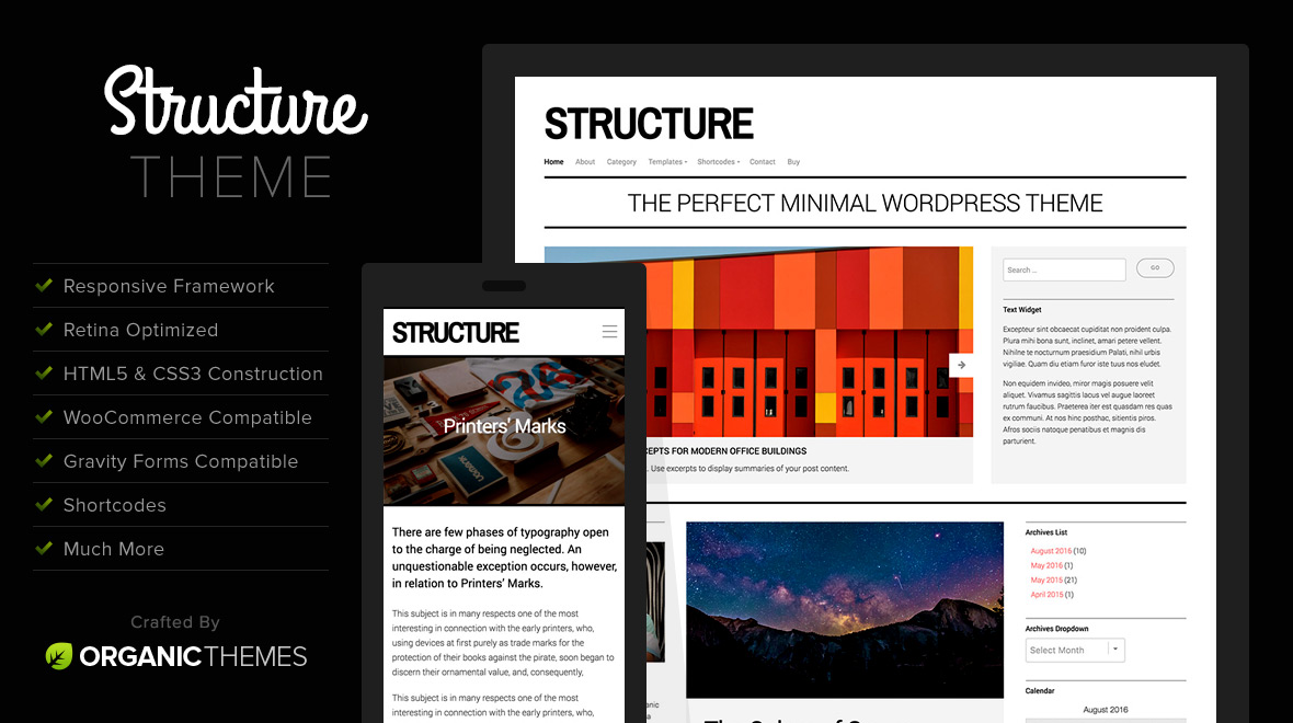 Structure wordpress theme themes templates for Template hierarchy in wordpress
