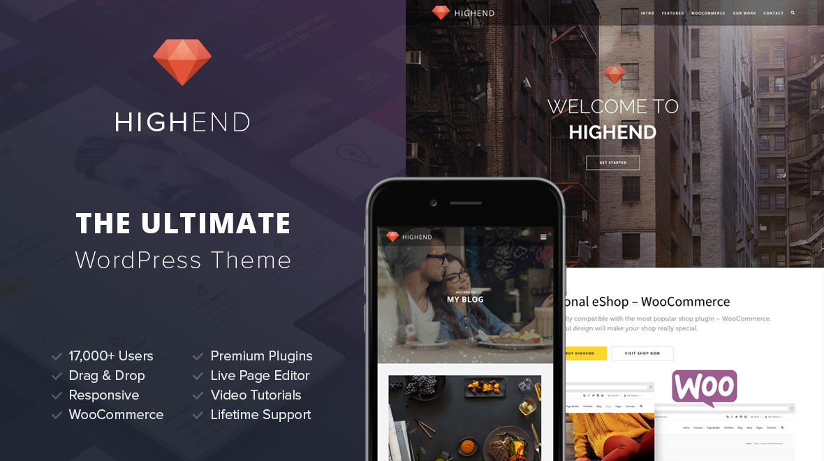 Highend - Ultimate Multi-Purpose WordPress Theme
