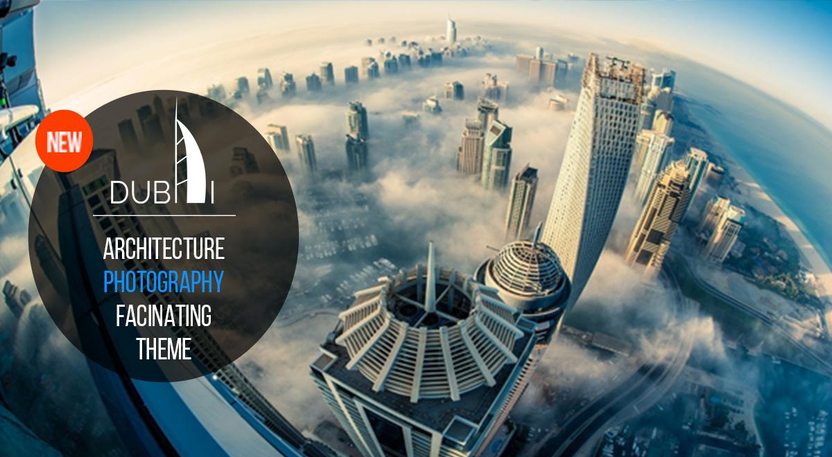 Dubai Attractive And Futuristic Animated Wordpress Theme