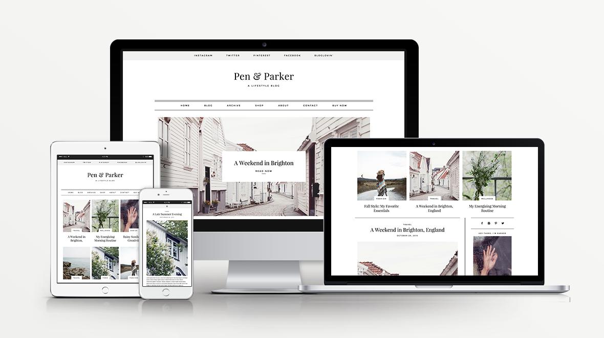 Parker -WordPress Blog Theme