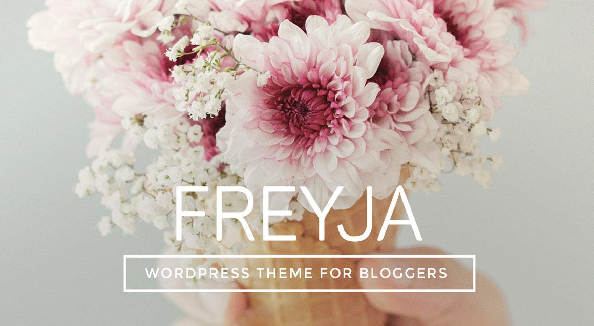 FREYJA - Personal WordPress Theme for Bloggers