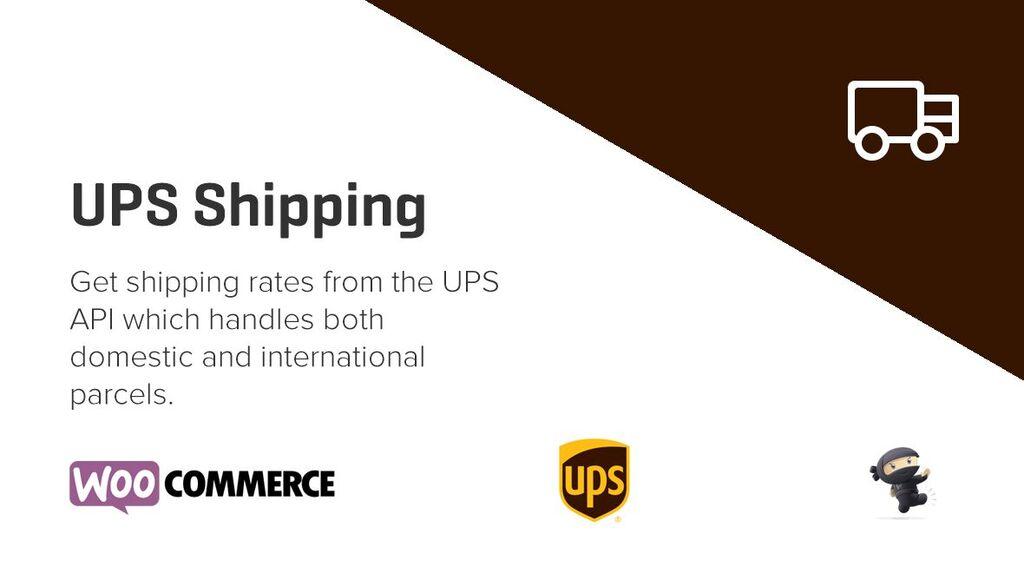 UPS Shipping Method for WooCommerce