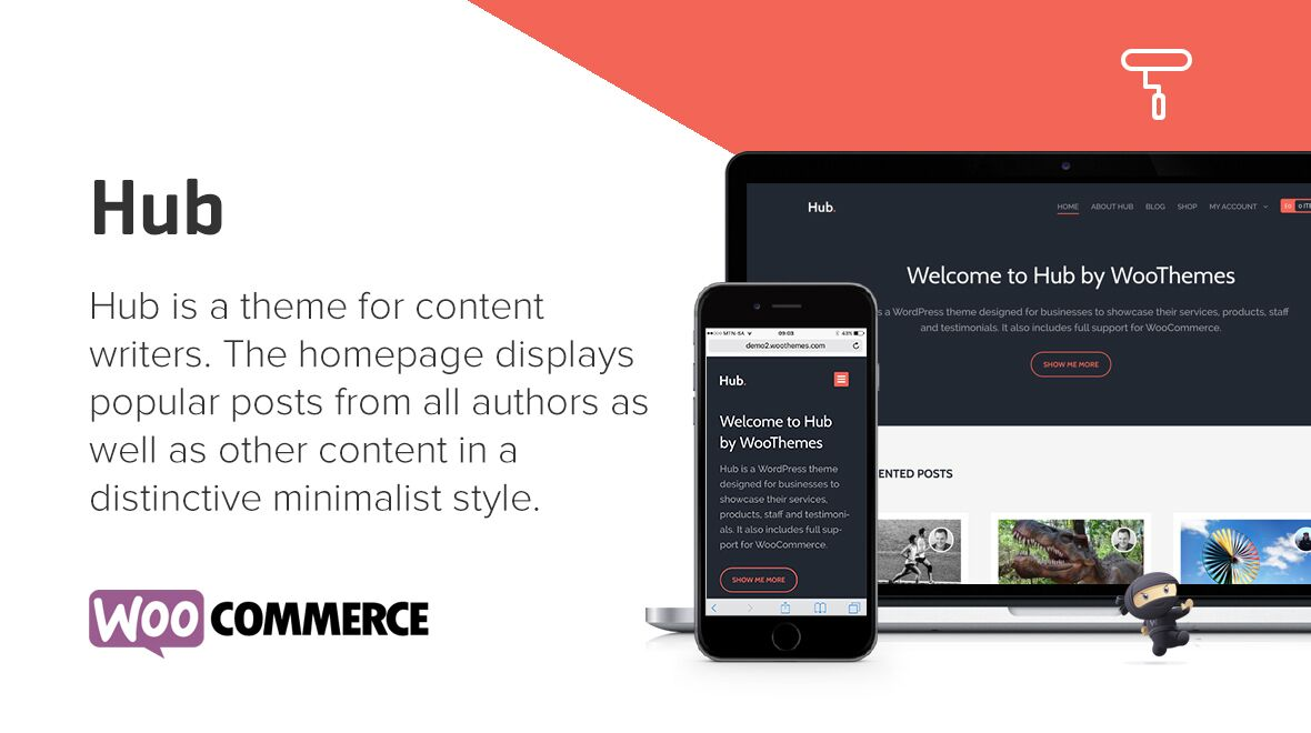 Hub - A WordPress Theme by WooThemes - Themes & Templates