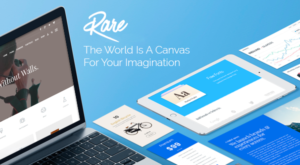 Rare WordPress Theme