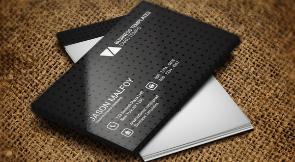 Individual business card template logos graphics 2 sales colourmoves