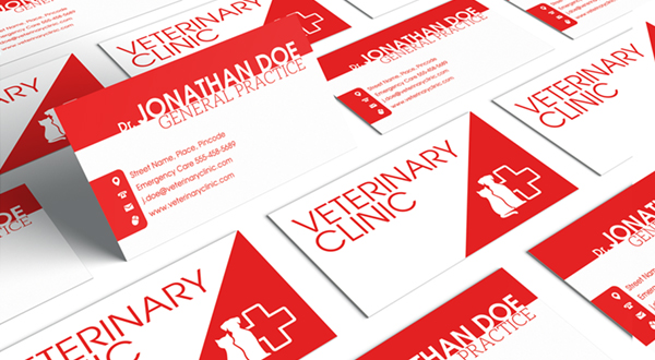 Veterinary clinic business card logos graphics item details veterinary veterinarians and veterinary staff alike need business cards colourmoves