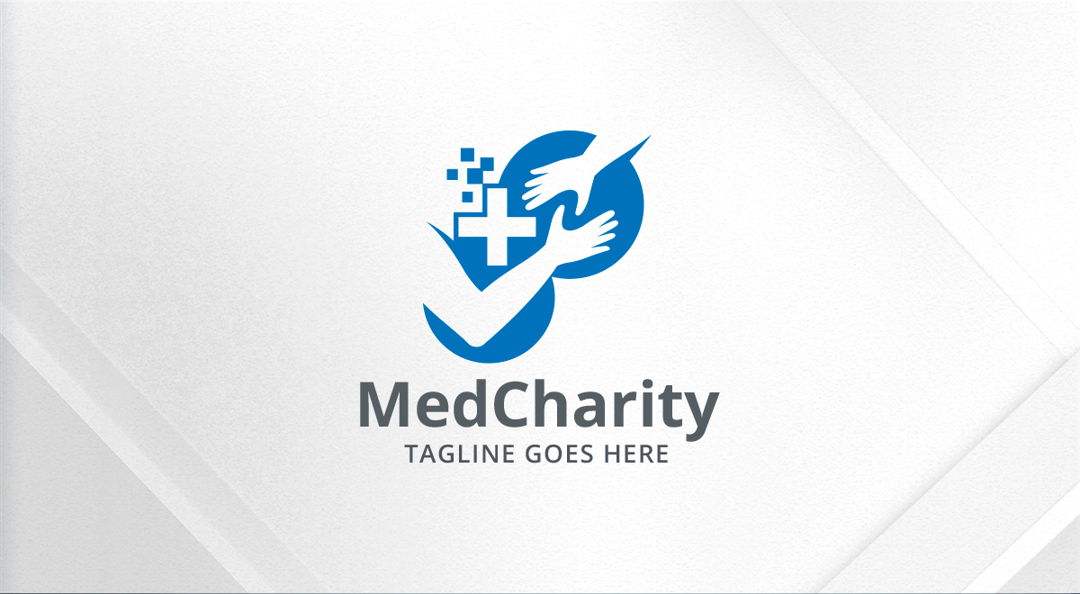 Medical Charity Helping Hand Logo Logos Amp Graphics