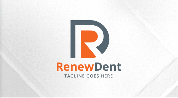 renew dental letters rddr logo logos amp graphics