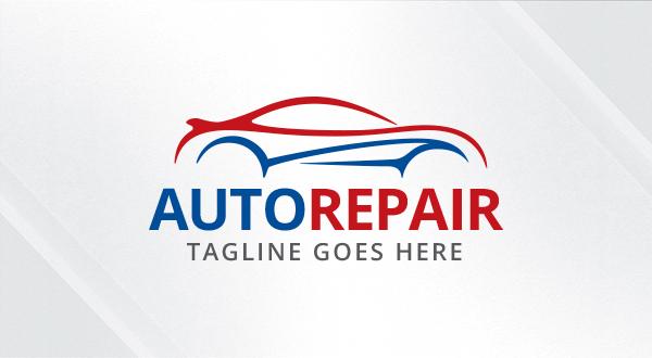 Auto - Repair - Automotive Logo - Logos & Graphics
