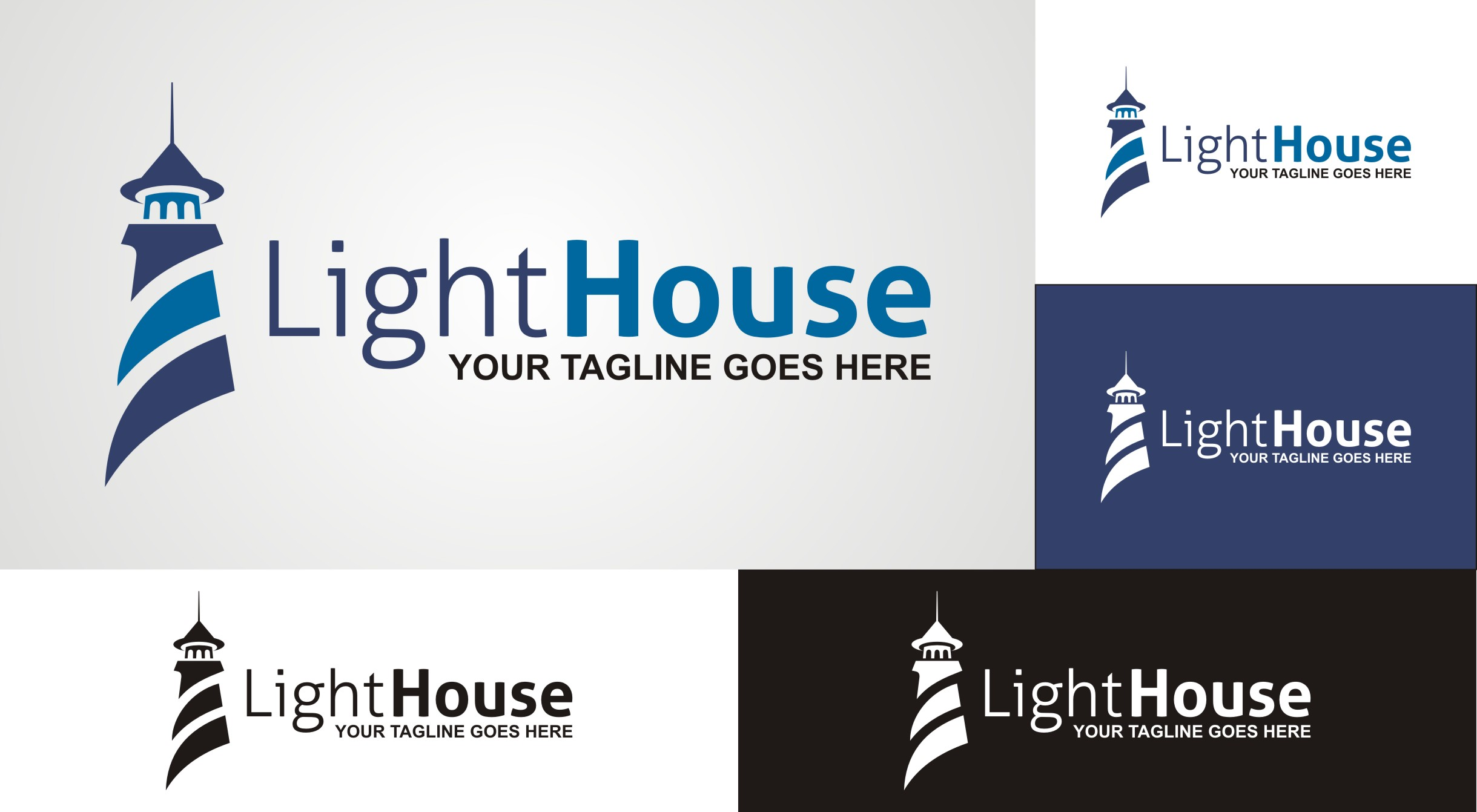 Lighthouse - logo - Logos & Graphics