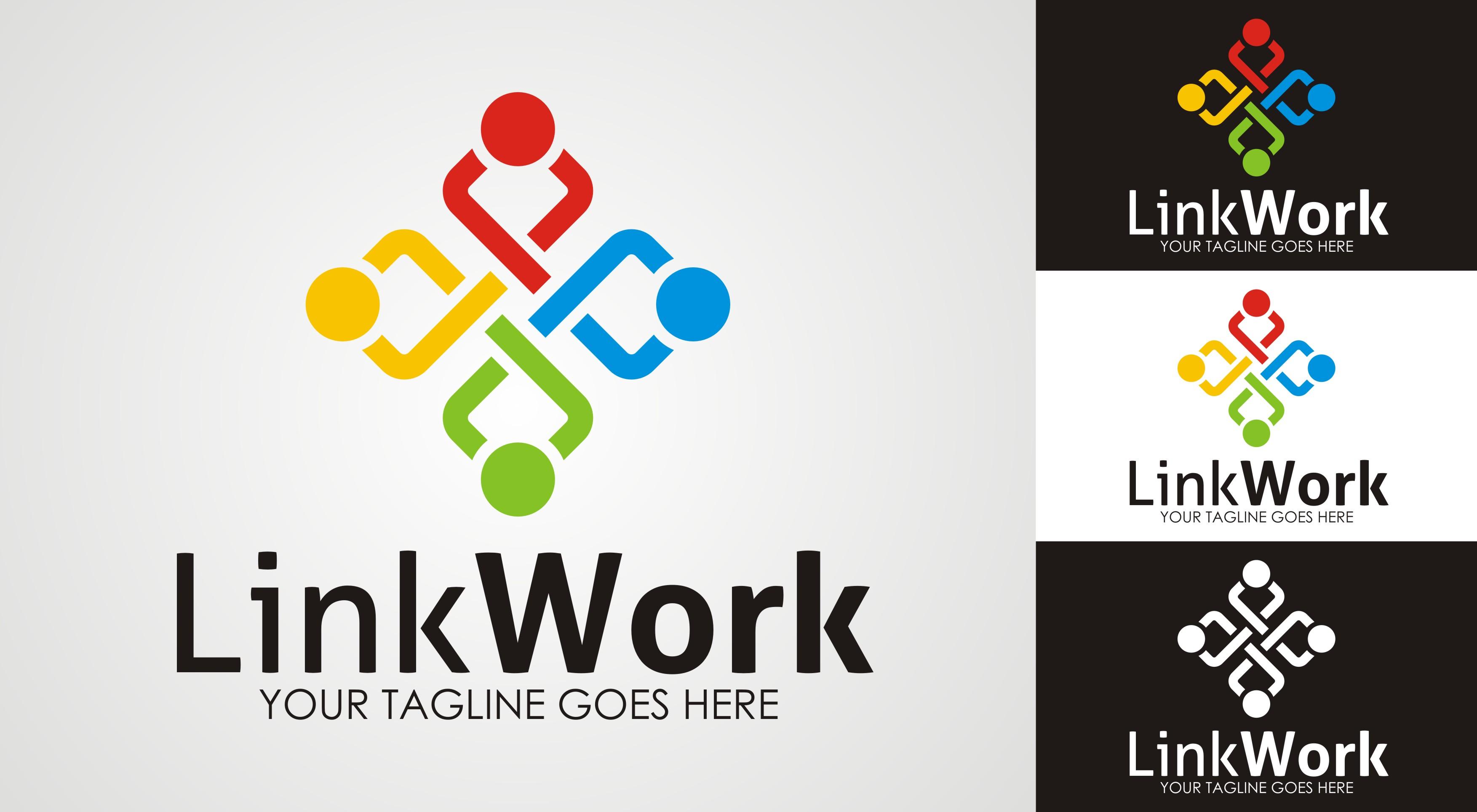 Afbeeldingsresultaat voor Link@work logo