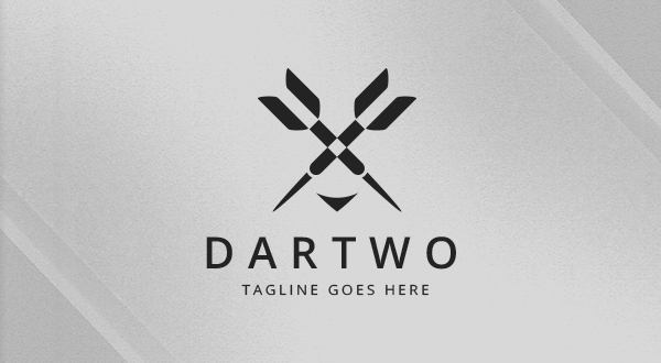 dartwo darts logo logos graphics