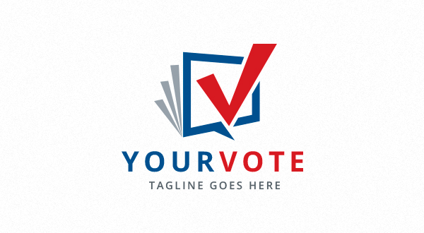 your - vote - checkmark logo