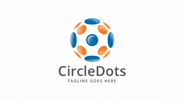 Circle - Dots Logo - Logos & Graphics