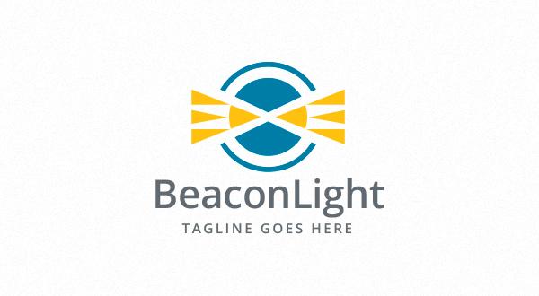 beacon - light - lighthouse logo