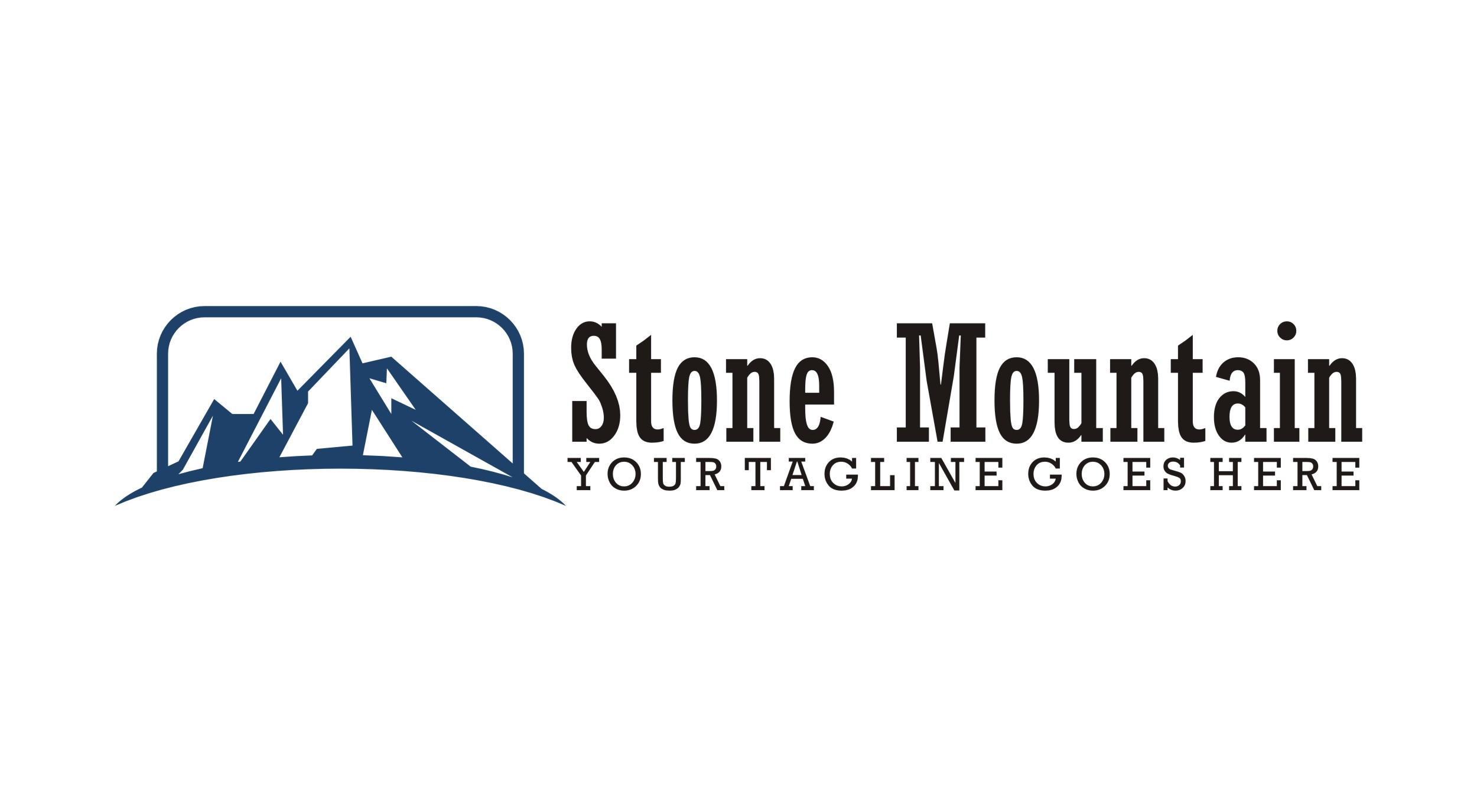 stone - mountain logo