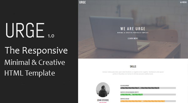 URGE - Multipurpose HTML Template