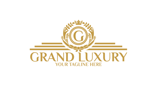 Grand Luxury Logo Template Logos Amp Graphics
