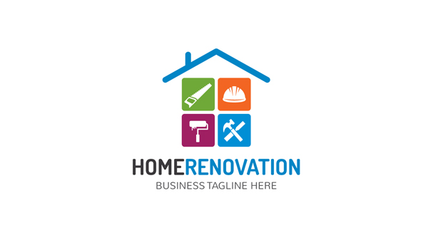 Home Renovation Logo Logos Amp Graphics