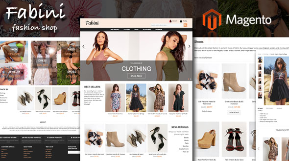 Fabini - Fashion Magento Theme