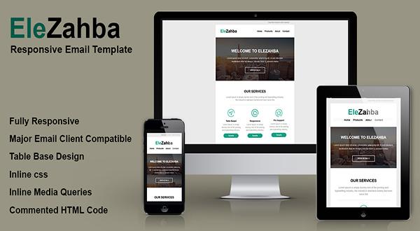 EleZahba Email Template
