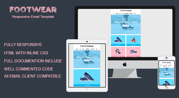 Footwear - Email Template