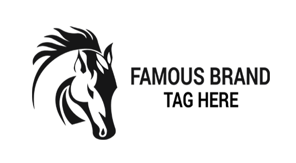 horse head logo logos amp graphics