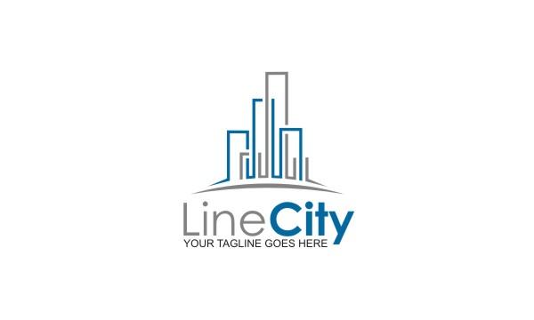 Line City Logo Logos Amp Graphics