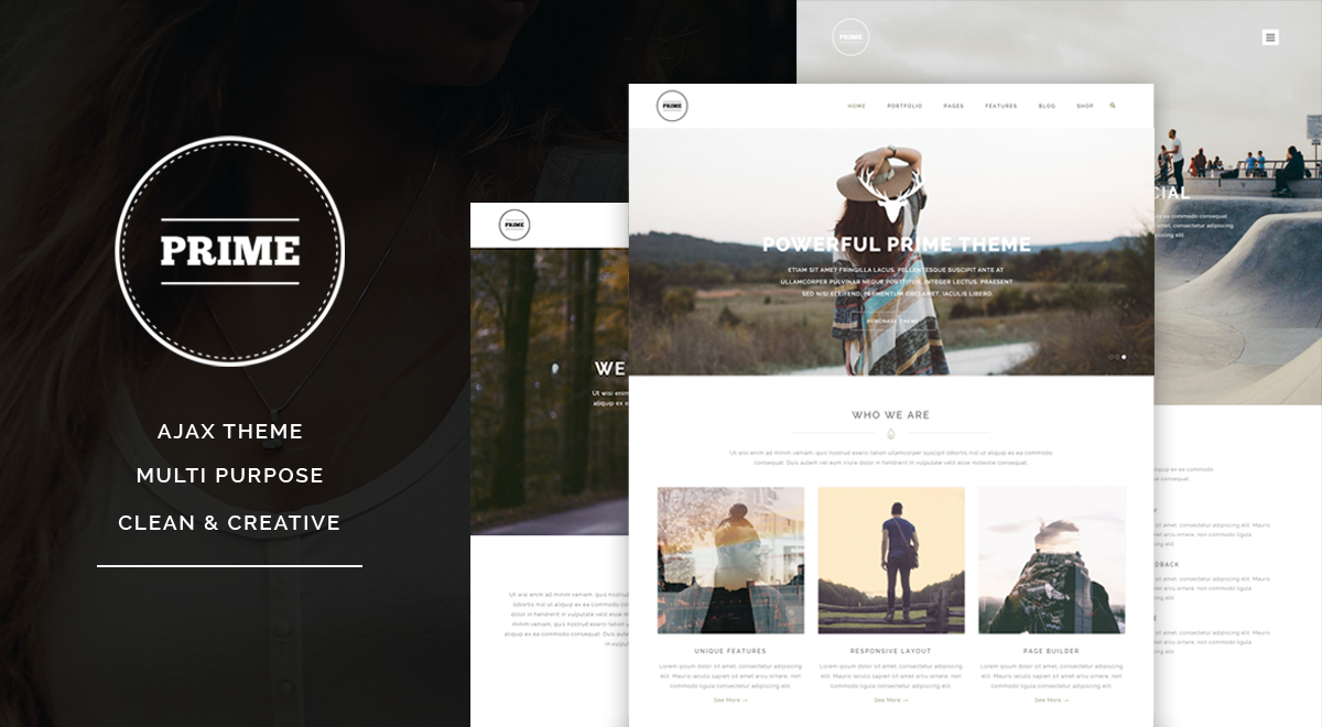 Prime WordPress theme