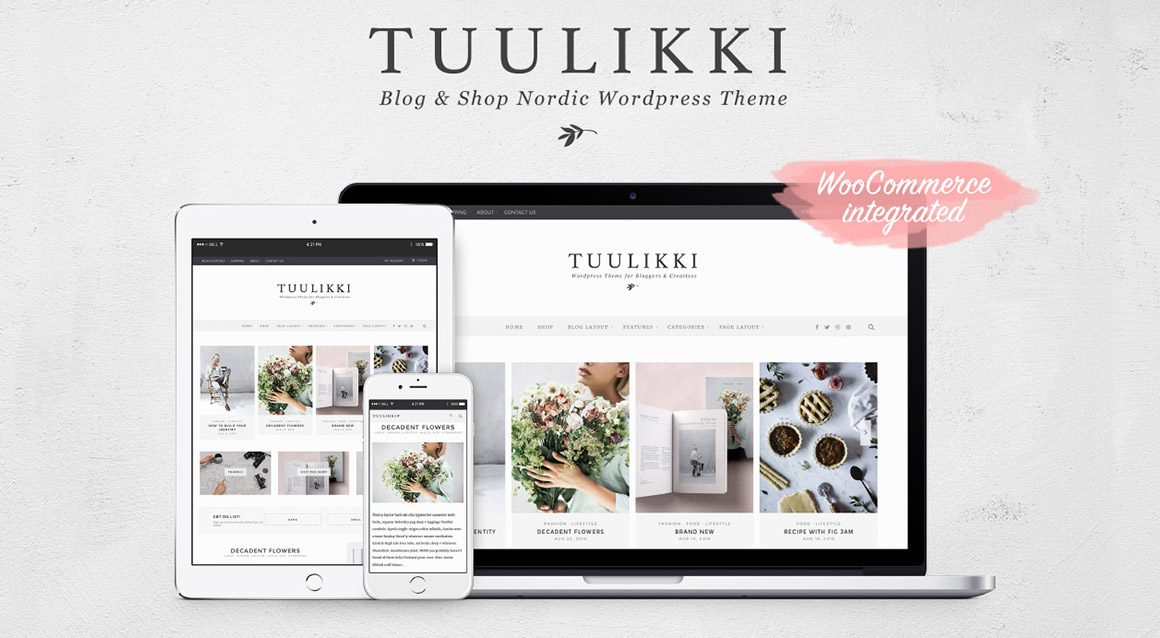 TUULIKKI WordPress theme