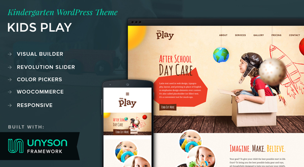 Kids Play WordPress theme