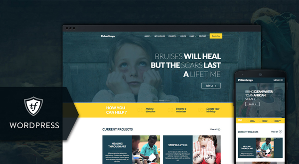 Philanthropy WordPress theme