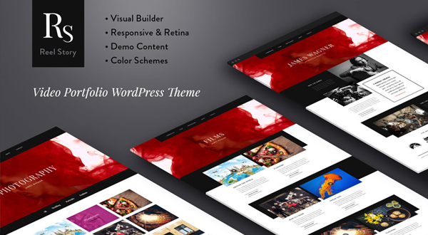 Reel Story WordPress theme