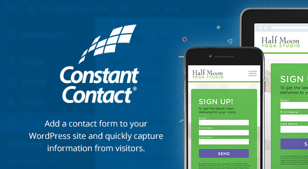 Constant Contact Forms For WordPress