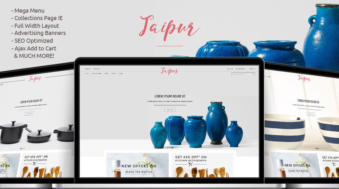 jaipur shopify theme home premium shopify theme themes templates. Black Bedroom Furniture Sets. Home Design Ideas