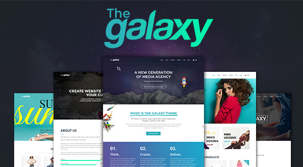 The Galaxy - Design Driven Multipurpose WordPress Theme
