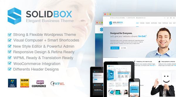 Solidbox elegant business wordpress theme themes templates 867 sales friedricerecipe Image collections