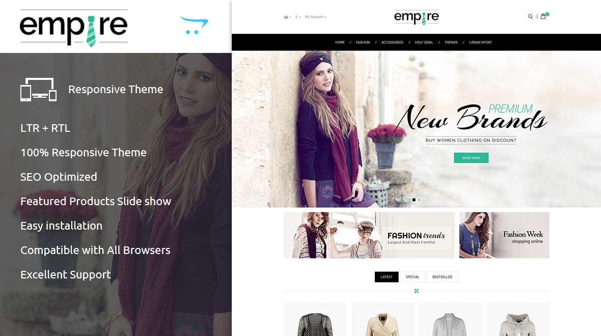 Empire Opencart Theme