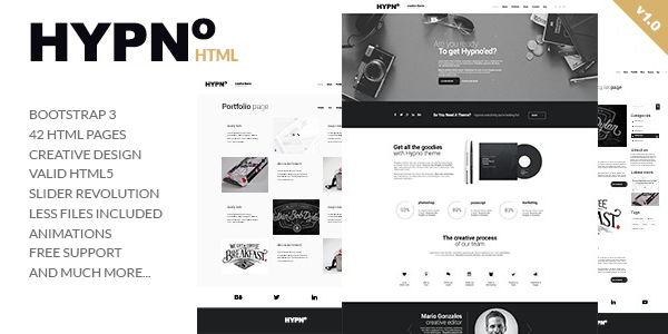 HTPNO - Modern Multipurpose HTML5 Template