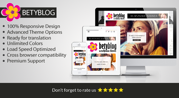 Betyblog - Wordpress Theme