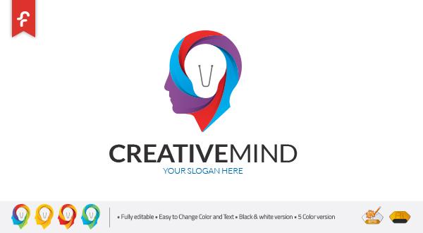 Creative Mind Logo Logos Amp Graphics