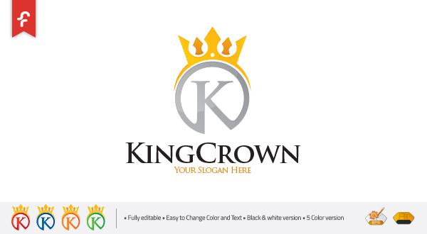 king crown logo logos amp graphics