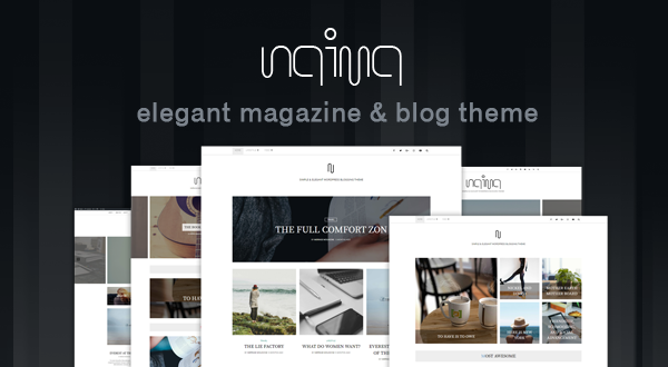 Naima - Elegant & Modern Magazine and Blog Theme