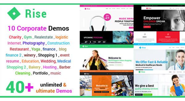 Rise - Multi-Purpose HTML Template Preview Image