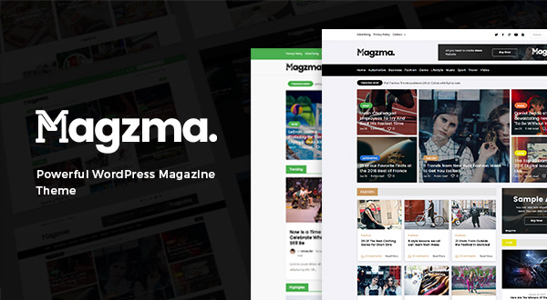Magzma Powerful WordPress Magazine Theme