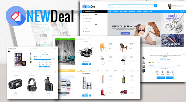 NewDeal Market Theme For Prestashop 1.7 Preview Image