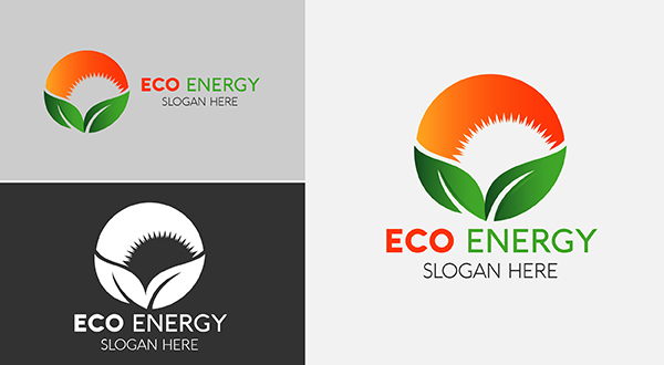eco - sun energy logo